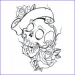 Cool Skull Coloring Pages Awesome Photography Funny Photos Skull Tattoo Designs S