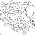 Cool Skull Coloring Pages Beautiful Images Skull Coloring Pages For Kids