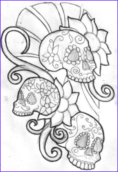 skull tattoo designs photos
