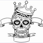 Cool Skull Coloring Pages Best Of Gallery Skull Coloring Pages For Adults Best Coloring Pages For Kids