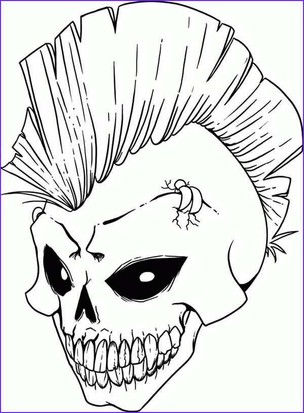 Cool Skull Coloring Pages Elegant Collection Free Coloring Pages Of Rock Skull Coloring Pages