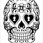 Cool Skull Coloring Pages Luxury Images Free Printable Day Of The Dead Coloring Pages Best