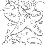 Coral Reef Coloring Page New Photos A Big Starfish And The Coral Reef Coloring Page To Print