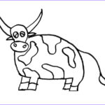 Cow Coloring Pages Awesome Image Free Printable Cow Coloring Pages For Kids