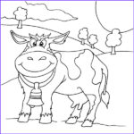 Cow Coloring Pages Beautiful Photos Netart 1 Place For Coloring For Kids Part 15