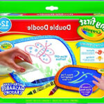 Crayola Electronic Coloring Tablet New Collection Crayola Mess Free Coloring Board My First Double Doodle