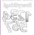 Creation Coloring Sheets Elegant Stock Look To Him And Be Radiant Creation Numbers
