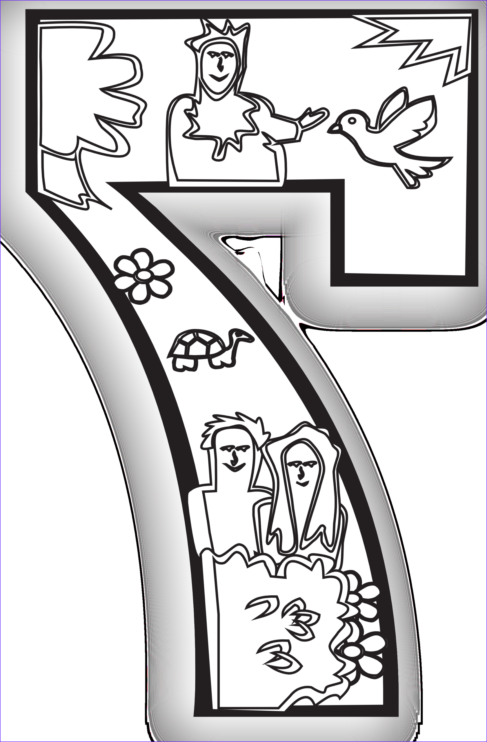 Creation Coloring Sheets Luxury Photos 43 Days Creation Coloring Pages Seven Days Creation