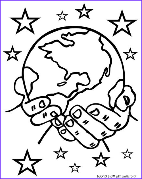 Creation Coloring Sheets New Image Creation Crafting the Word God