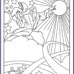 Creation Coloring Sheets New Photos Creation Coloring Pages God Created Heaven And Earth