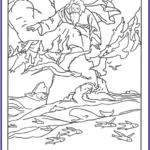 Creation Coloring Sheets Unique Photos Creation Coloring Pages God Created Heaven And Earth