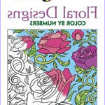 Creative Coloring Books Inspirational Stock Creative Haven Floral Design Color By Number Coloring Book