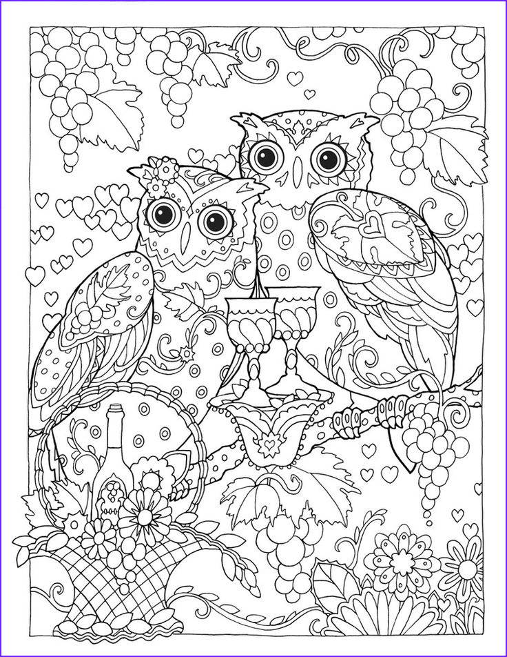 Creative Haven Coloring Pages Elegant Photos Creative Haven Owls Coloring Book by Marjorie Sarnat