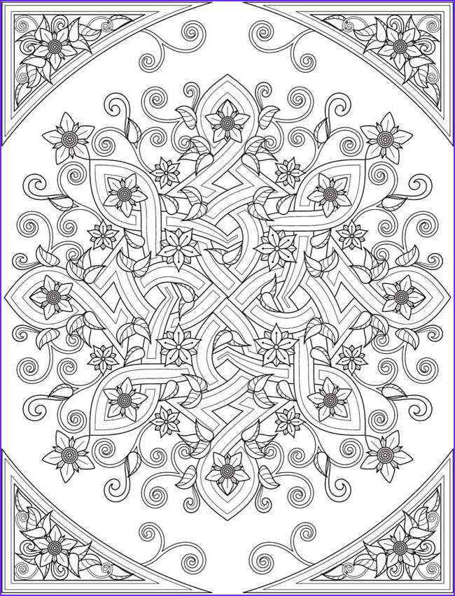 Creative Haven Coloring Pages Elegant Photos Wel E to Dover Publications From Creative Haven Deluxe