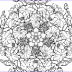Cross Coloring Pages For Adults Beautiful Collection Floral Coloring Pages For Adults Best Coloring Pages For K