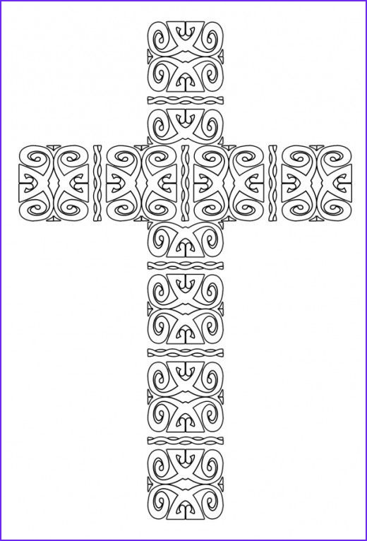 Cross Coloring Pages Printable Beautiful Photos Free Printable Cross Coloring Pages