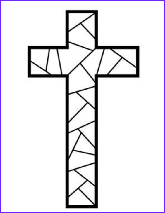 Cross Coloring Pages Printable Cool Image Free Printable Cross Coloring Pages