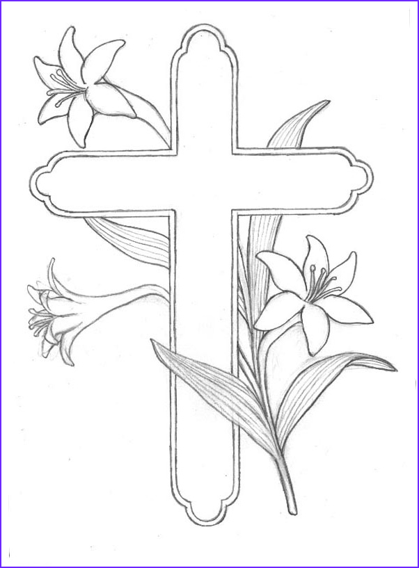 5 printable cross coloring pages for