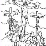 Crucifixion Coloring Pages Awesome Collection The Huddle Coloring Pages