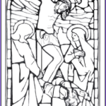 Crucifixion Coloring Pages Beautiful Photos Stained Glass Coloring Page Jesus Crucifixion