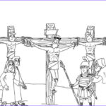 Crucifixion Coloring Pages Best Of Gallery Illustration Of The Crucifixion Coloring Child Coloring