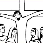 Crucifixion Coloring Pages Best Of Images Jesus Cartoon Drawing At Getdrawings