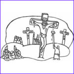 Crucifixion Coloring Pages Cool Image Crucifixion Coloring Page