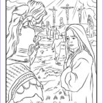 Crucifixion Coloring Pages Cool Image Crucifixion Coloring Pages Coloring Home