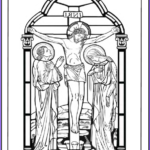 Crucifixion Coloring Pages Cool Photography Good Friday Coloring Pages For God So Loved The World