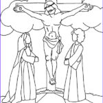 Crucifixion Coloring Pages Elegant Photography Crucifixion Coloring Pages At Getcolorings