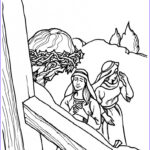 Crucifixion Coloring Pages New Photos Bible Colring Of Jesus S Life