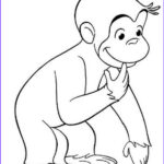 Curious George Coloring Pages Beautiful Gallery Curious George Wondering Why Coloring Page Netart