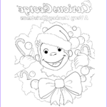 Curious George Coloring Pages Beautiful Image Curious George Printables