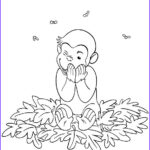 Curious George Coloring Pages Inspirational Gallery Fun Coloring Pages Curious George Coloring Pages