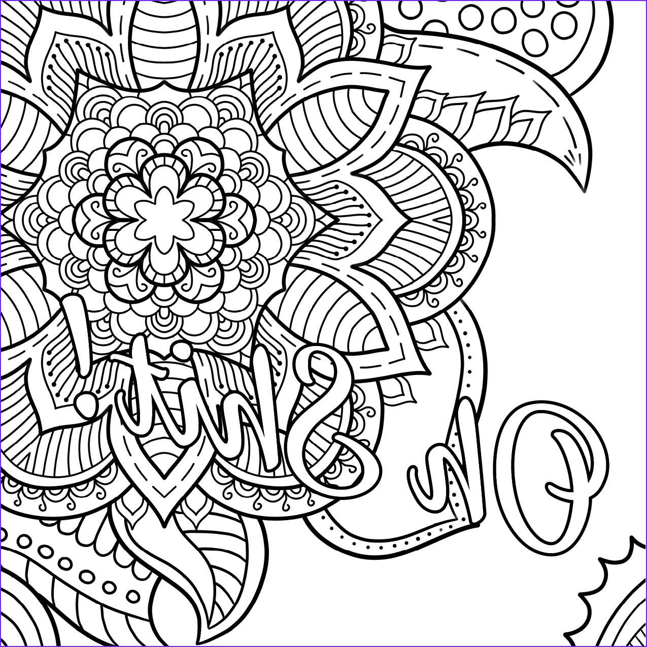 oh shit free coloring page cursing therapy coloring book