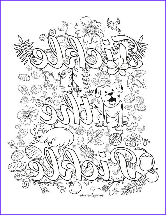 tickle the pickle swear words coloring