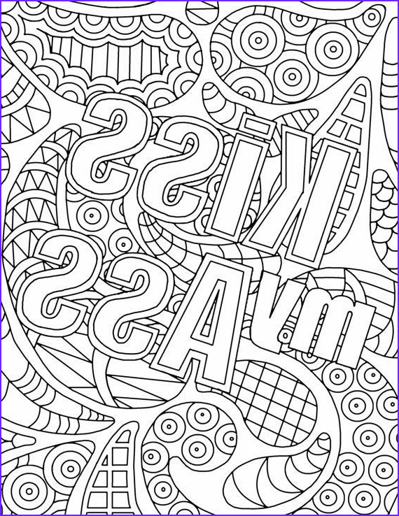 Cuss Word Coloring Pages Unique Collection Free Adult Coloring Pages Swear Words Aol Image Search