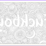 Cuss Words Coloring Pages Unique Stock Swear Coloring Page Fuckboy With Flower Ornaments