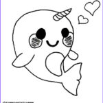 Cute Baby Coloring Pages Elegant Gallery Print Cute Baby Narwhal Coloring Page Coloring Pages