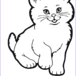 Cute Baby Coloring Pages Unique Image Cute Baby Cats Coloring Pages Animal