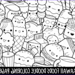 Cute Coloring Pages Beautiful Collection Foods Doodle Coloring Page Printable Cute Kawaii Coloring