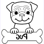 Cute Coloring Pages Beautiful Images Pug Coloring Pages Best Coloring Pages For Kids