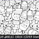 Cute Coloring Pages Cool Stock Popsicle Doodle Coloring Page Printable Cute Kawaii Coloring