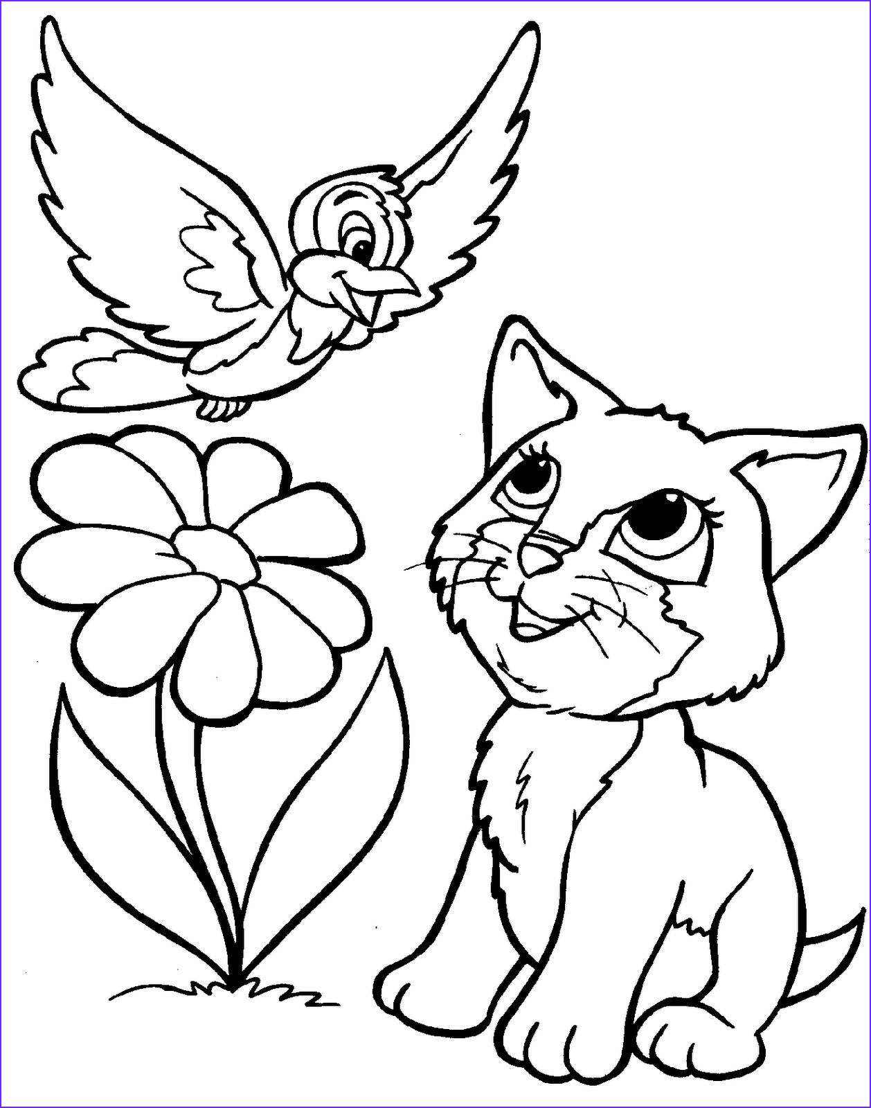 Cute Coloring Pages New Photos 10 Cute Animals Coloring Pages