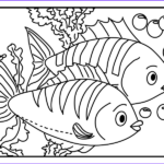 Cute Fish Coloring Pages Awesome Stock 29 Fish And Octopus Coloring Pages For Kids