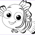 Cute Fish Coloring Pages Beautiful Gallery Nemo Cute Fish Coloring Pages