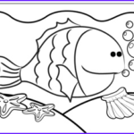 Cute Fish Coloring Pages Cool Photos Cute Fish Coloring Page