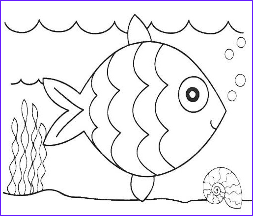 Cute Fish Coloring Pages Cool Photos Cute Fish Coloring Pages Papeleria