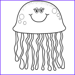 Cute Fish Coloring Pages Inspirational Photos Cute Jellyfish and Seahorse Coloring Pages