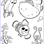 Cute Fish Coloring Pages Luxury Gallery Cute Nemo Coloring Pages